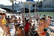 Parisian beaches opened on July 8