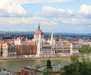Parliament building. Budapest