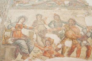 Pathos mosaics. Cyprus