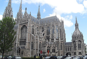 Peter and Paul Church in Oostende