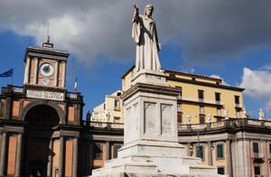 Piazza Dante cultural heritage of Naples