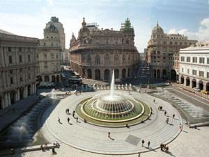 Piazza De Ferrari. Genoa Attractions