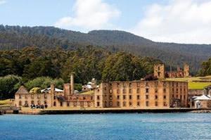 Port Arthur. Sight of Tasmania