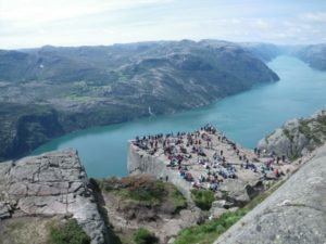 Preikestolen Rock, Norway