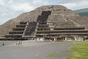 Pyramid of the Moon, Mexico