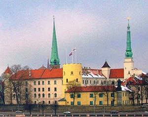 Riga Castle. Riga