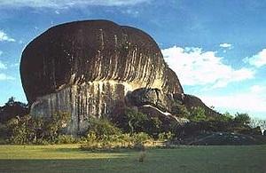 Rock Pedra Pintada, Brazil