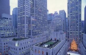 Rockefeller center - sight of New York