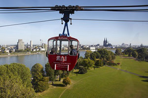 Ropeway in Cologne