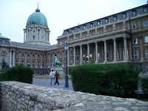 Royal palace of Budapest