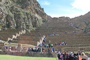 Ruins of Ollantaytambo, Peru