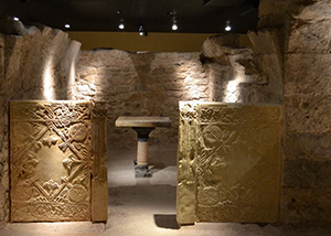 Sanct Vicente's crypt