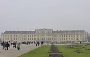 Schönbrunn Palace with the park