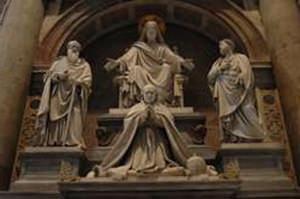Sculptures at Saint Peter's Square