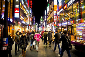 Seoul. Photos attractions Myeongdong