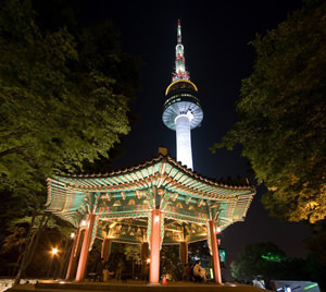 Seoul. Photos attractions Seoul Tower