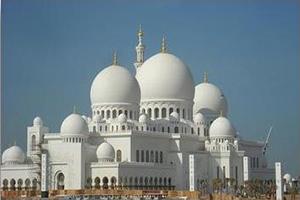 Sight of Abu Dhabi