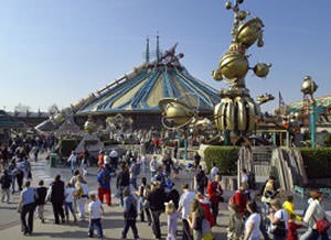 Sight of Paris - the Disneyland
