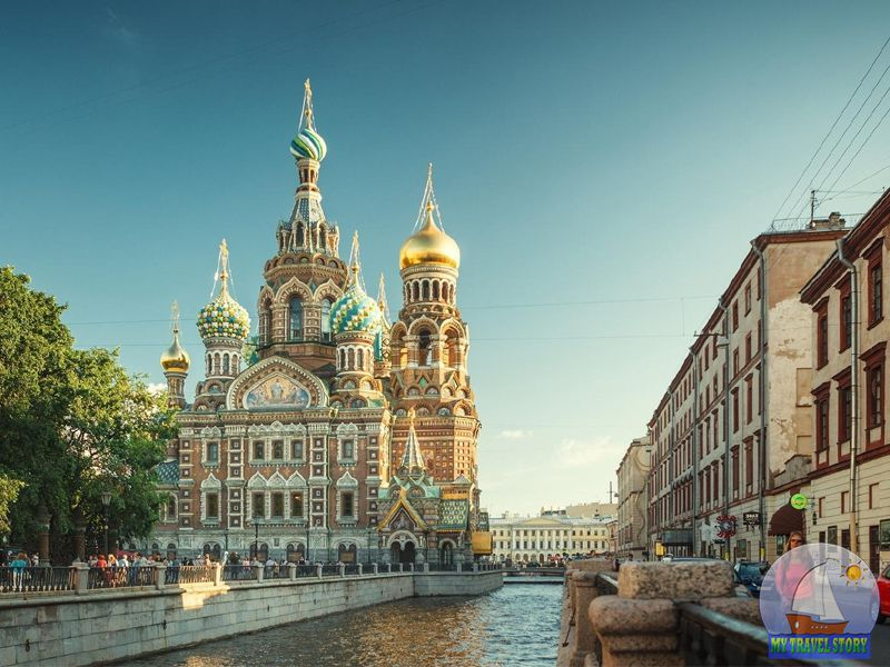 Sights of St. Petersburg (Russia)
