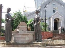 Statues in Truskavets