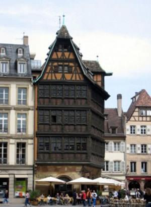 Strasbourg. Mansion photo Kammertsel