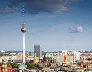 Television tower of Berlin