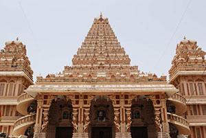 Temple complex Chattarpur, Delhi