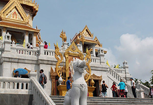 Temple of the Golden Buddha, Bangkok, Thailand