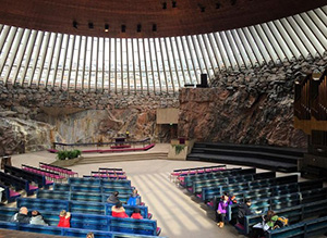 Temppeliaukio's church