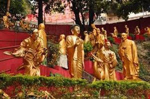 Ten Thousand Buddhas Monastery. Hong Kong
