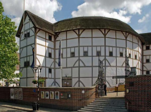 The Shakespearean Globe theater