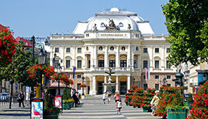 The Slovak national theater – historical heritage of Bratislava