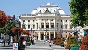 The Slovak national theater – historical heritage of Bratislava