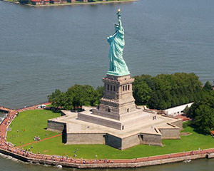 The Statue of Liberty - sight of New York