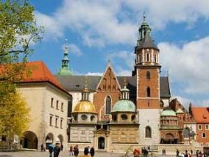 The Vavelsky lock - Krakow