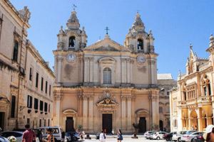 The ancient city Mdina, Malta