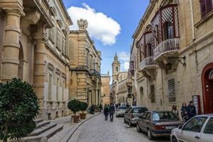 The ancient city Mdina