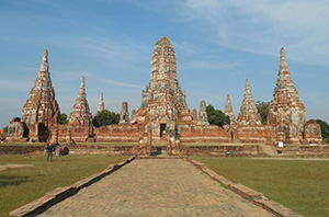 The ancient city of Ayutthaya, Thailand