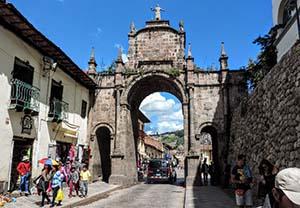 The ancient city of Cusco, Peru