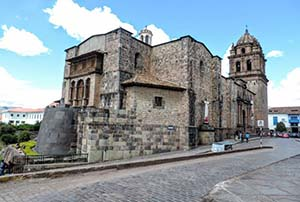 The ancient city of Cusco