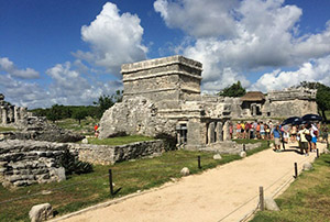 The ancient city of Tulum, Mexico