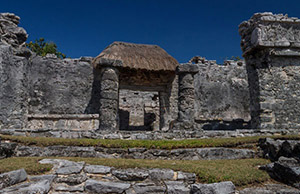 The ancient city of Tulum