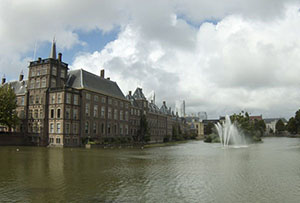 The castle Binnenhof, Netherlands
