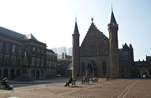 The castle Binnenhof