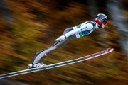 The flights skiers 250 meters can be seen in Slovenia