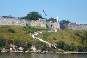 The fortress of La Cabaña, Havana, Cuba