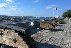 The fortress of La Cabaña, Havana