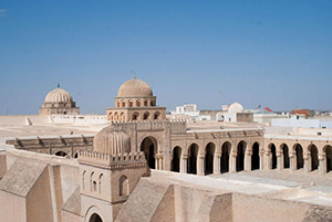 The holy city of Kairouan, Tunisia
