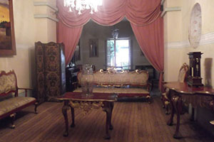 The house-museum of Simon Bolivar