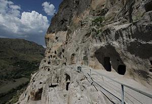 The monastery Vardzia